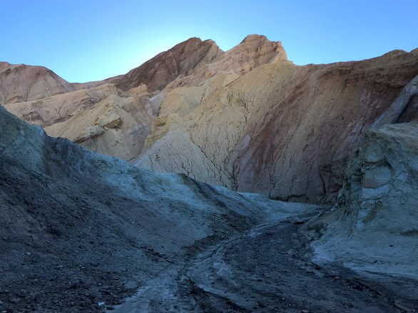 Early Morning Sunrise Hiking in Death Valley
