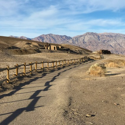 Harmony Borax Works Interpretive Trail in Death Valley