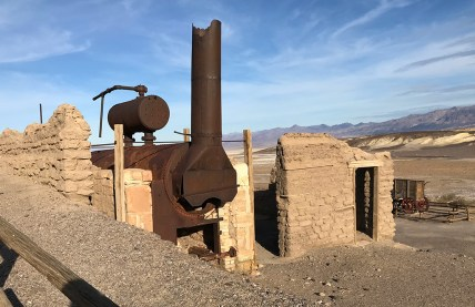Harmony Borax Works Remains in Death Valley
