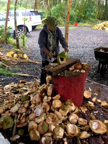 Hawaiian Farm Produce Stand