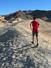 Hiking 20 Mule Team Canyon Road