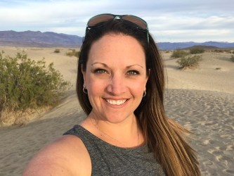 Jennifer Bourn at Mesquite Flat Sand Dunes