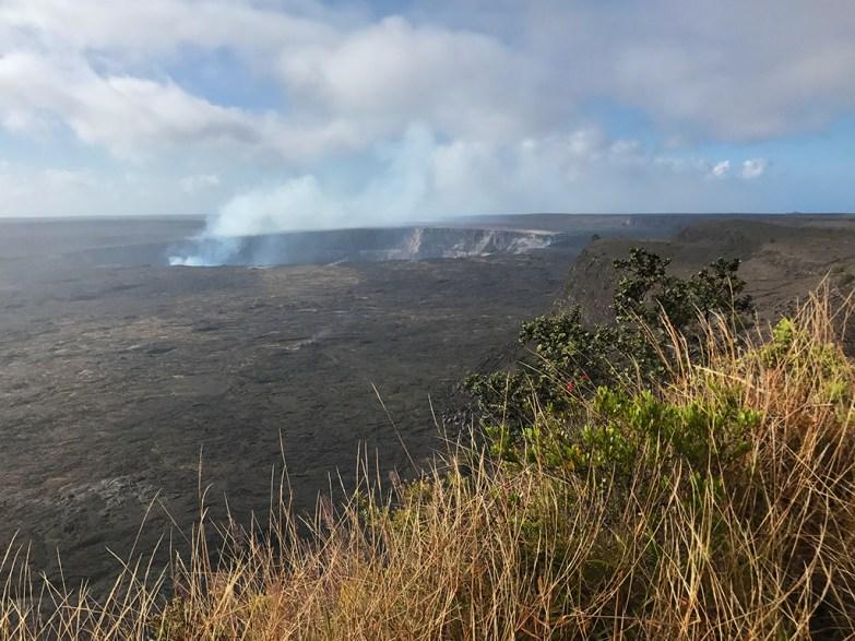 The Crater Rim Drive Kilauea Overlook