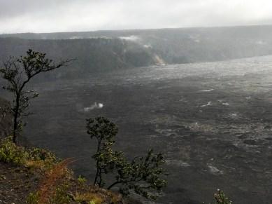 Kilauea Overlook Steam Vents in Crater