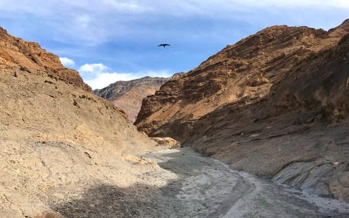 Mosaic Canyon Trail in Death Valley California