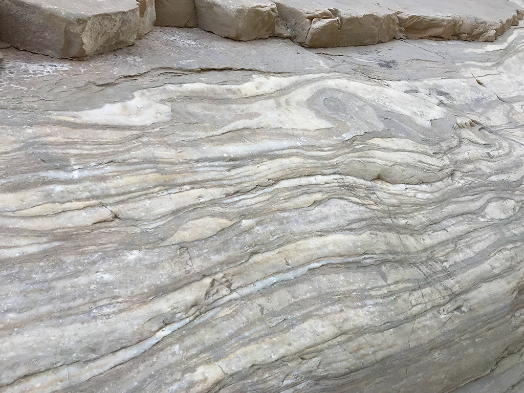 Polished Marble On The Mosaic Canyon Trail