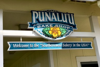 Punaluu Bake Shop the Southernmost Bakery in the United States