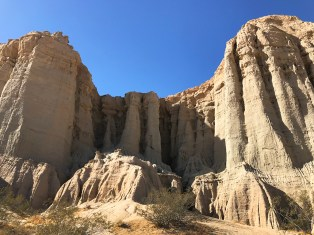 Rock Pinnacles and Spires at Red Rock Canyon State Park