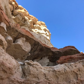Sandstone and Oxidized Rock Formations