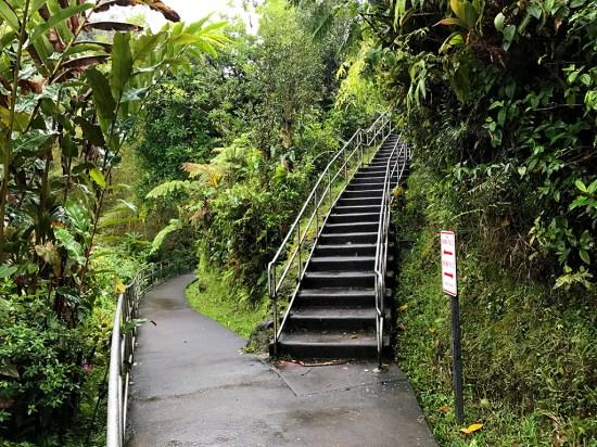 Trail from Kahuna Falls to Akaka Falls
