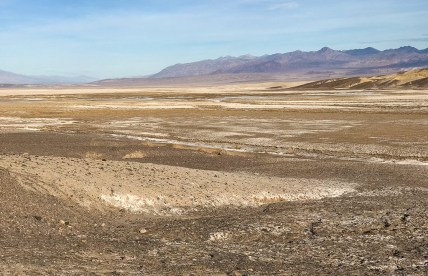 View of Death Valley From Harmony Borax Works Site