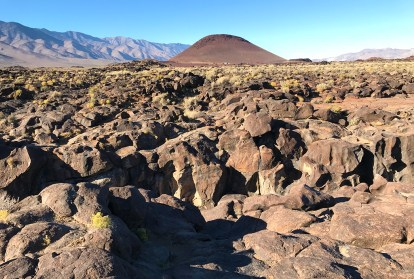 View of Red Hill from Fossil Falls