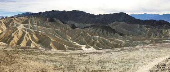 View South into Death Valley From Zabriskie Point