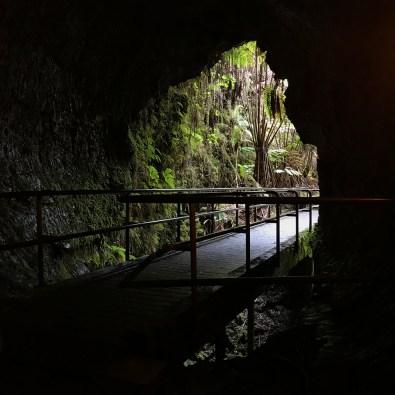 Hawaii Lava Tube Entrance