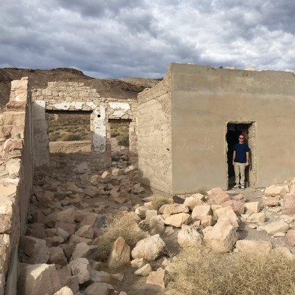 Brian Bournin the Rhyolite Jewelry Store Ruins