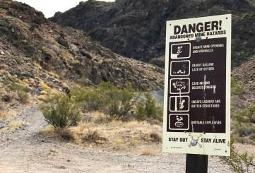 Mining Danger Sign
