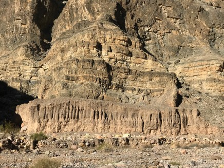 Layered Rock Walls in Titus Canyon