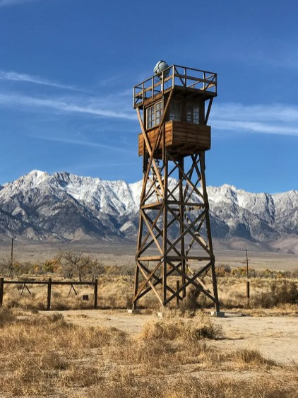 Manzanar National Historic Site Guard Tower