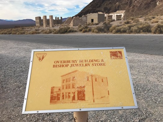 Rhyolite Building Signs