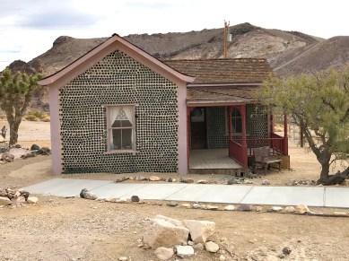 Rhyolite Ghost Town Bottle House