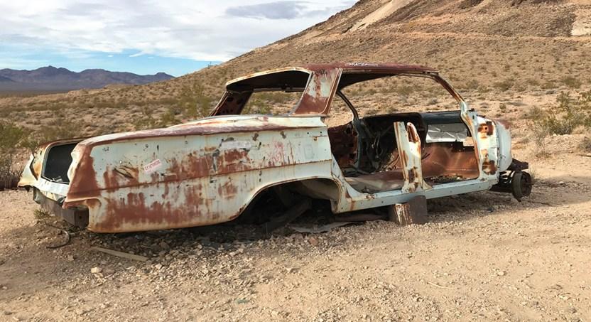 Rusty Abandoned Car