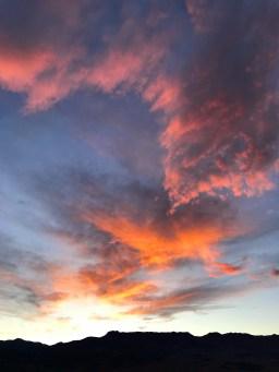 Ubehebe Crater Sunset