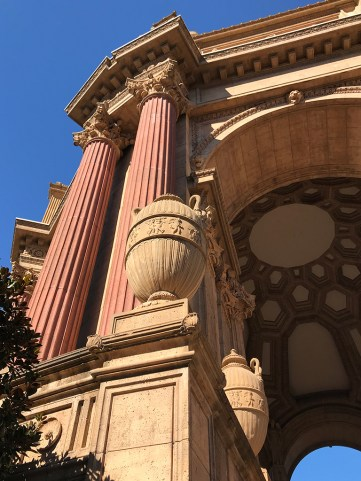Palace Of Fine Arts Sculptural Details Designed By Bernard Maybeck
