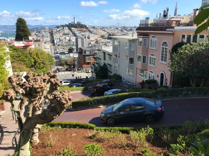 Lombard Street The Crookedest Street In The World