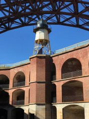 Inside Fort Point National Historic Site