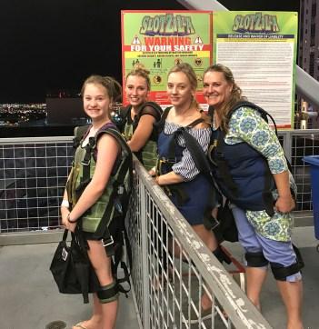 Girls Weekend Las Vegas Zipline