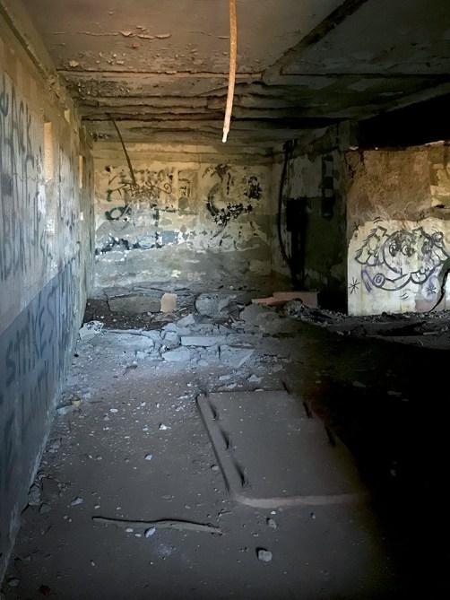 Graffiti Inside Battery Mendell