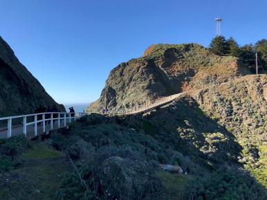 Hiking The Point Bonita Trail
