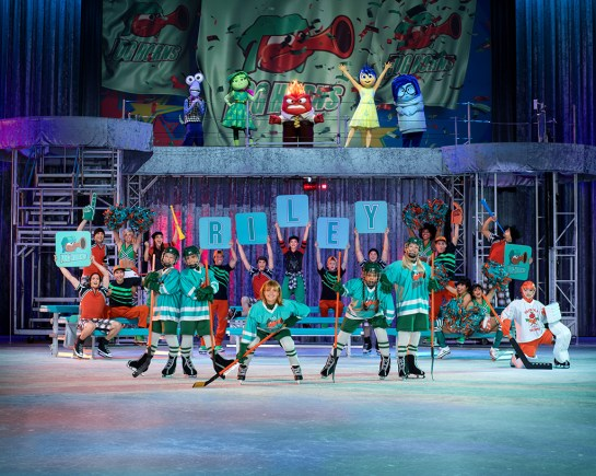 Disney's Inside Out Cast Cheers For Riley in Disney On Ice