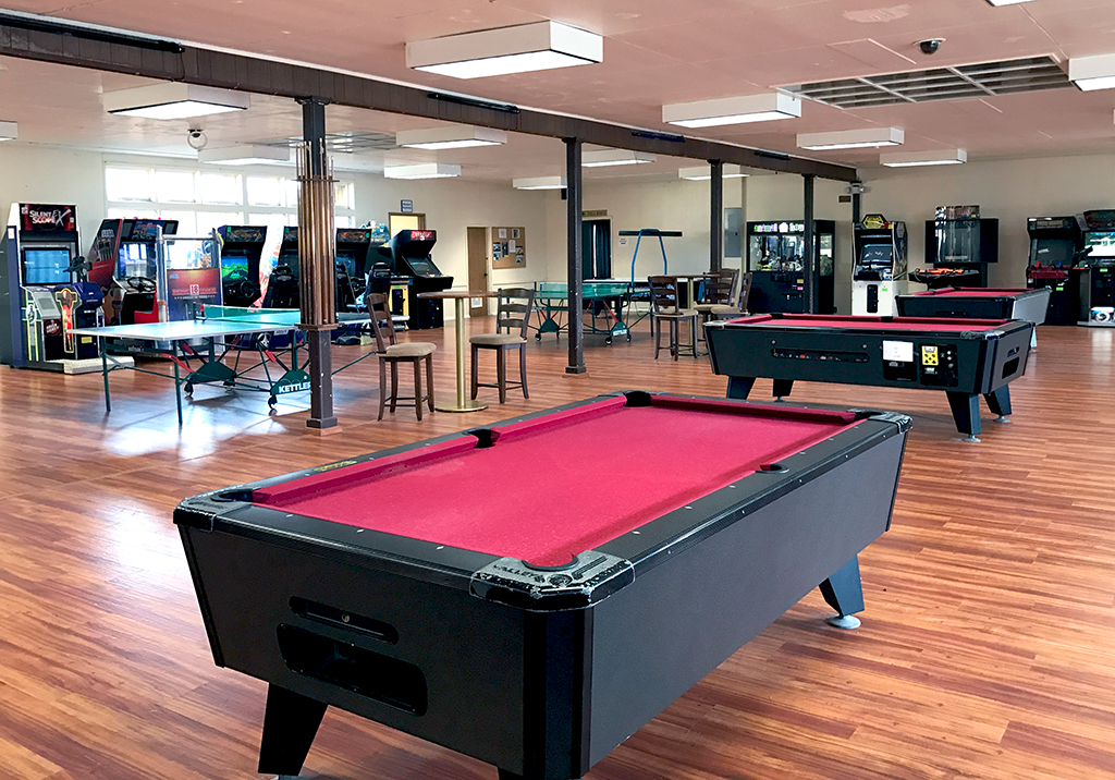 Kilauea Military Camp Game Room