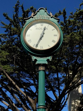 Saint Francis Yacht Club Clock