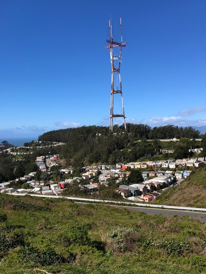 Sutro Tower in San Francisco