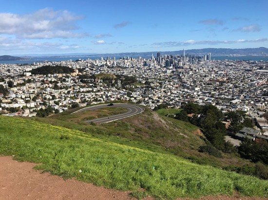 Twin Peaks Views of Downtown San Francisco