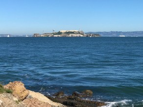 View of Alcatraz From The Wave Organ