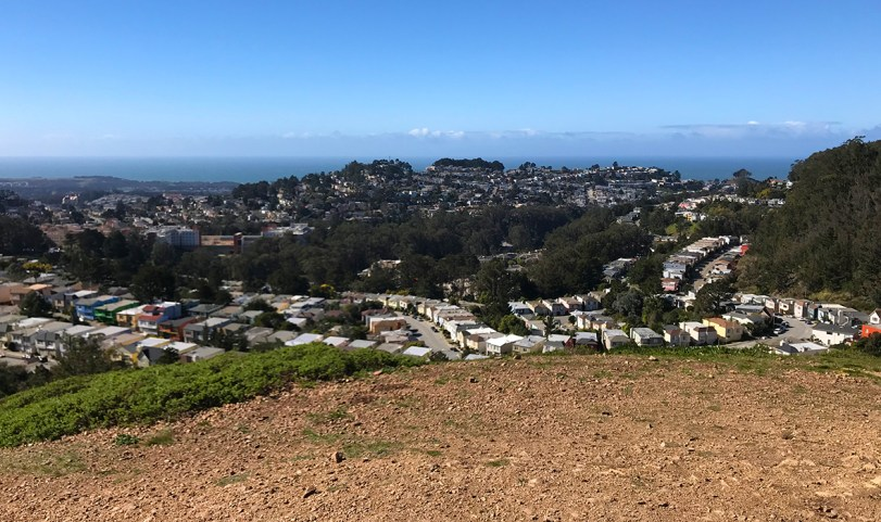 View From North Peak at Twin Peaks