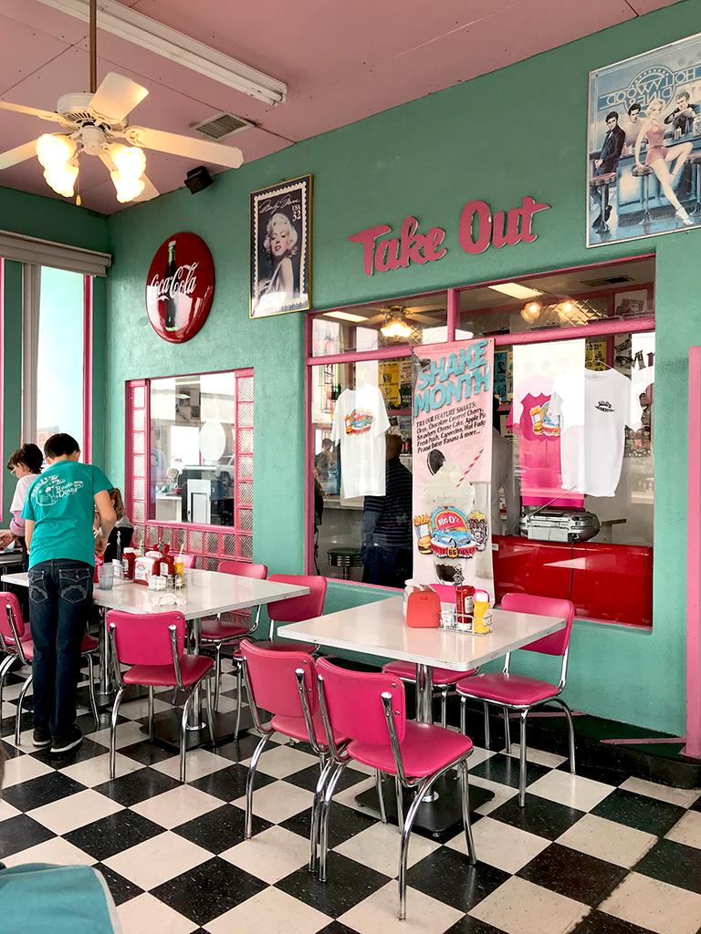 Mr  D'z Route 66 Diner In Kingman, Arizona | Inspired Imperfection