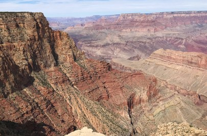 Desert View Drive Roadside Pullout and Scenic Viewpoint