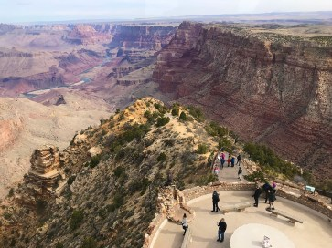 Desert View Point At Grand Canyon National Park