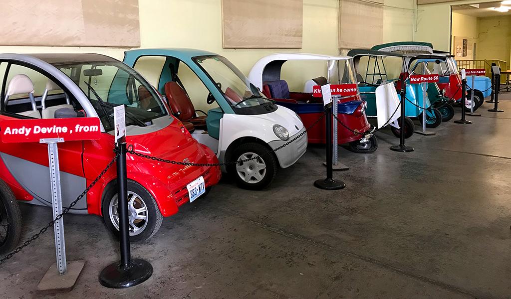 Electric Vehicle Museum in Kingman, Arizona