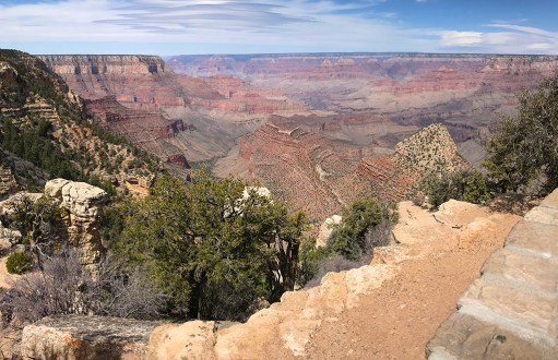 Grandview Point Scenic Overlook on Desert View Drive
