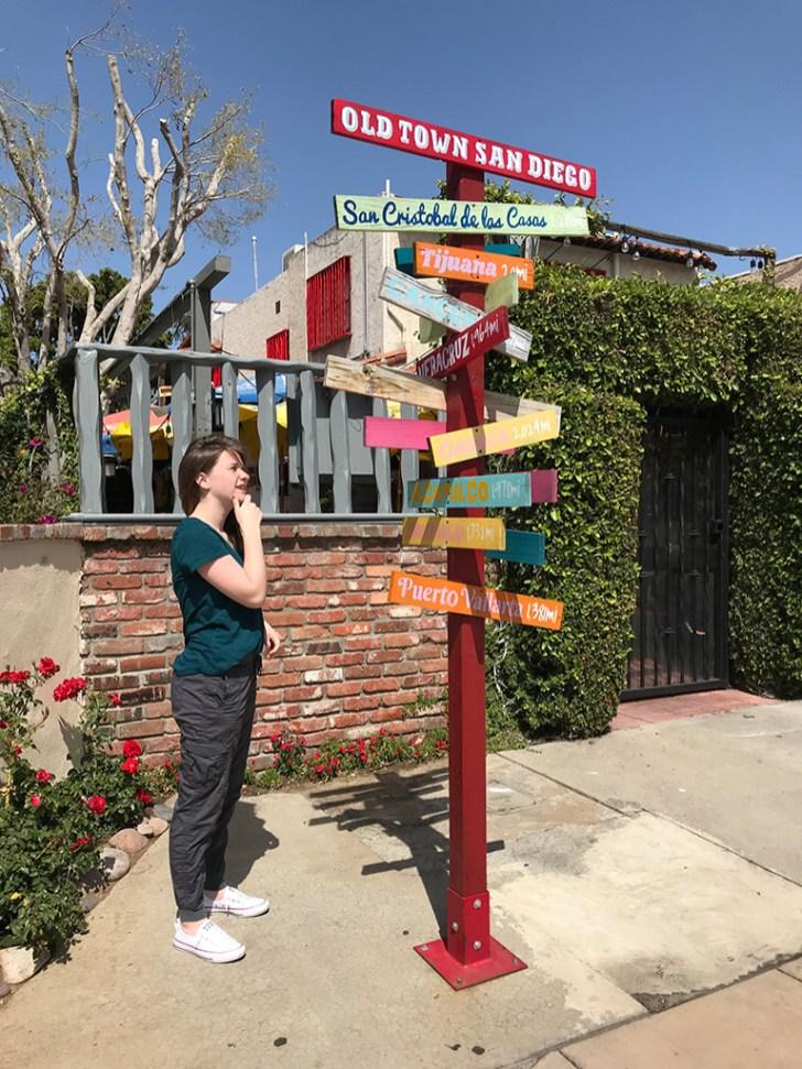 Natalie Bourn in Old Town San Diego