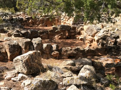 Puebloan Ruins at the Grand Canyon