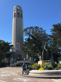 Bourn Family At Coit Tower