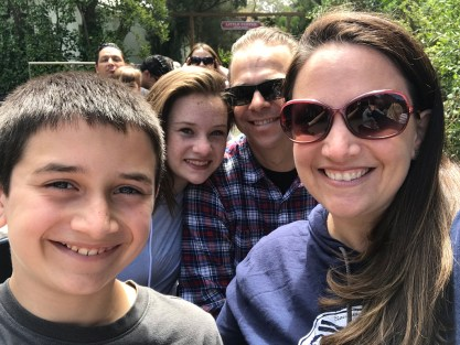 Bourn Family Riding The San Francisco Zoo Train