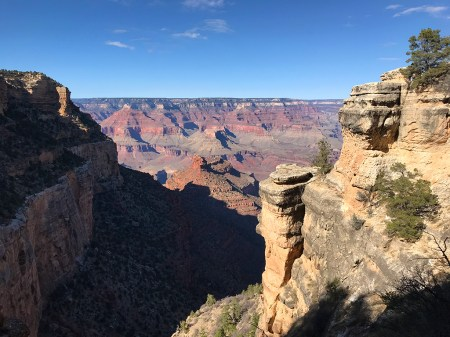 Views of the Grand Canyon From Bright Angel Trail