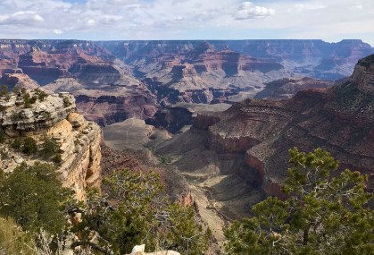 Bright Angel Trail and Plateau Point